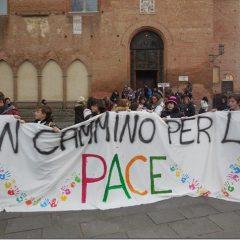 I giovani della diocesi in Cammino per la pace